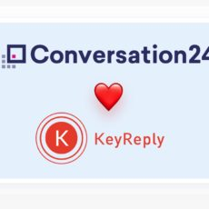 Conversation24 will also partner with KeyReply!